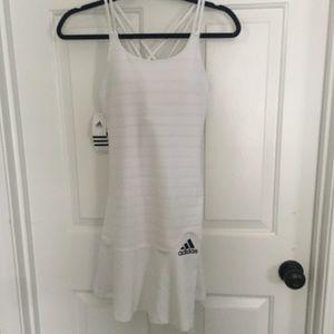 Adidas white tennis dress